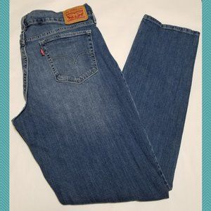 Levi's 414 High Rise Relaxed Straight Leg Jeans